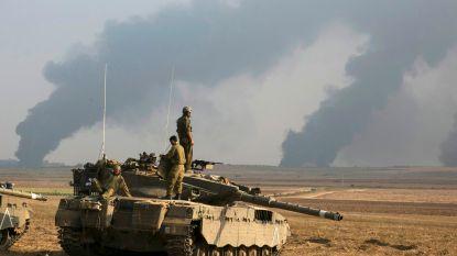 Israël voert nachtelijke bombardementen uit in Gazastrook