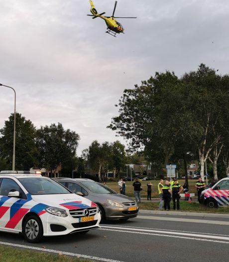 Twee fietsers raken gewond bij botsing in Wageningen