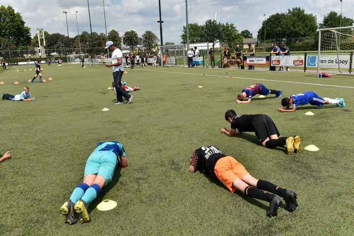 Voetbalschool The Future hield een scouting challenge.