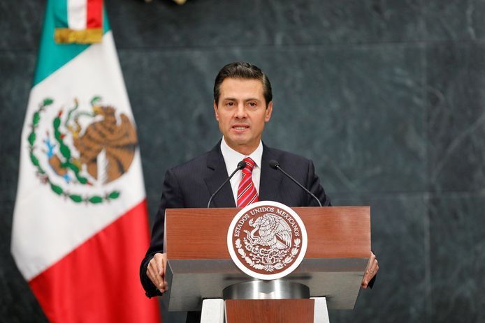 De Mexicaanse oud-president Enrique Peña Nieto.