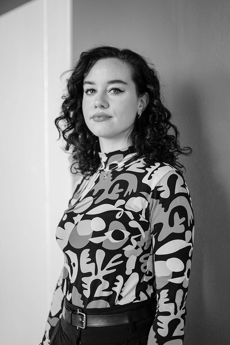 Justine van de Beek, sociologe en jongerenambassadeur Seksuele en Reproductieve Rechten en Gezondheid. Beeld Judith Tielemans