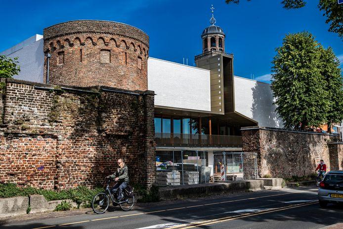 Het nieuwe filmtheater Mimik, dat in september open gaat.