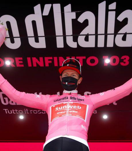 Kelderman knokt zich naar roze trui in spectaculaire Giro-rit over Stelvio