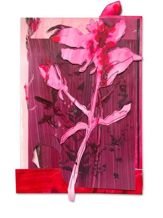 Kunstenares Anook Cléonne uit Arnhem geeft elke dag een kunstwerk weg.