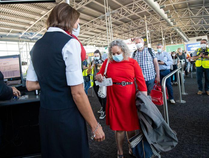 Beeld ter illustratie. Op maandag 15 juni werden de passagiersactiviteiten op Brussels Airport hervat.