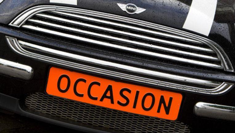 De verkoop van tweedehands auto's is in de tweede helft van vorig jaar aangetrokken. Foto ANP Beeld