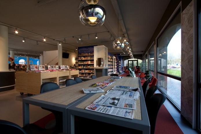 De bibliotheek in Vianen heeft nu weinig plekken om cursisten privacy te bieden.