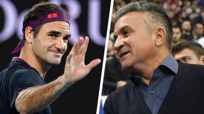 """Vader Djokovic haalt uit naar Federer: """"Roger, voed je kinderen op, ga skiën, doe iets, man!"""""""