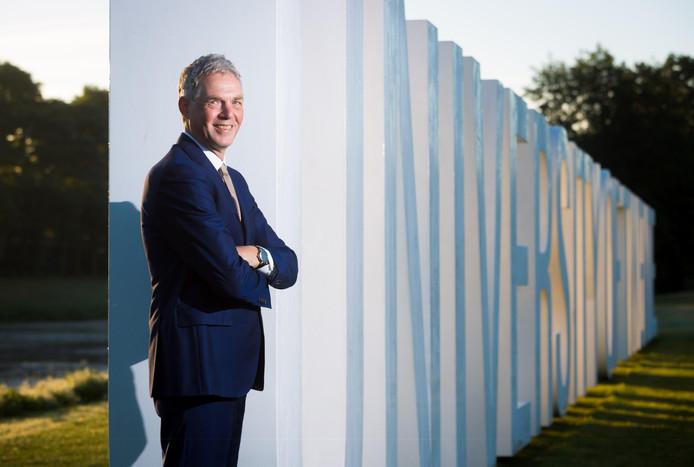 Thom Palstra, de nieuwe Rector Magnificus van de Universiteit Twente