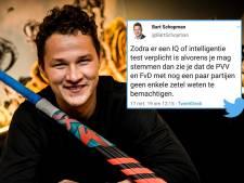 VVD'er Schopman schaamt zich voor zijn IQ-tweet: 'Dit is een erg pijnlijke rollercoaster'