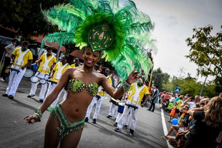 Even leek het wel Braziliaans carnaval.