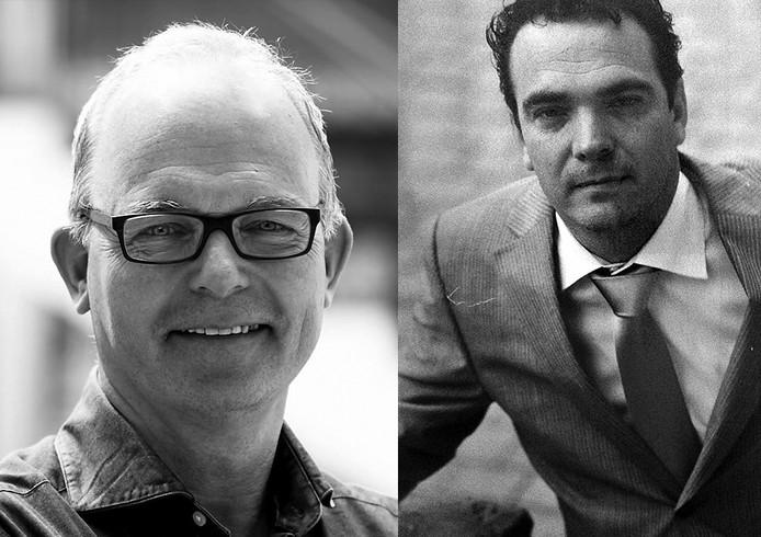 Joost Eykman (links) en Dennis van Tilborg Foto's Facebook