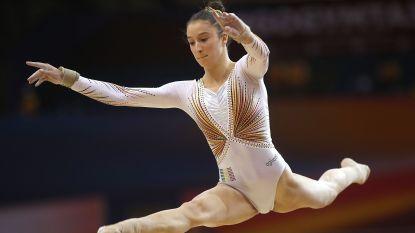 Nina Derwael ook de beste op de balk op WB turnen in Doha