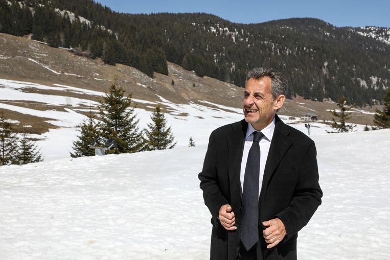 Nicolas Sarkozy, Frans president tussen mei 2007 en mei 2012.