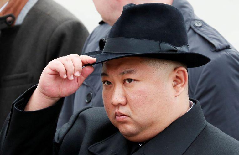 Sinds Kim verstek liet gaan bij de viering van de geboortedag van zijn grootvader Kim Il-sungwordt volop over zijn toestand gespeculeerd.  Beeld REUTERS