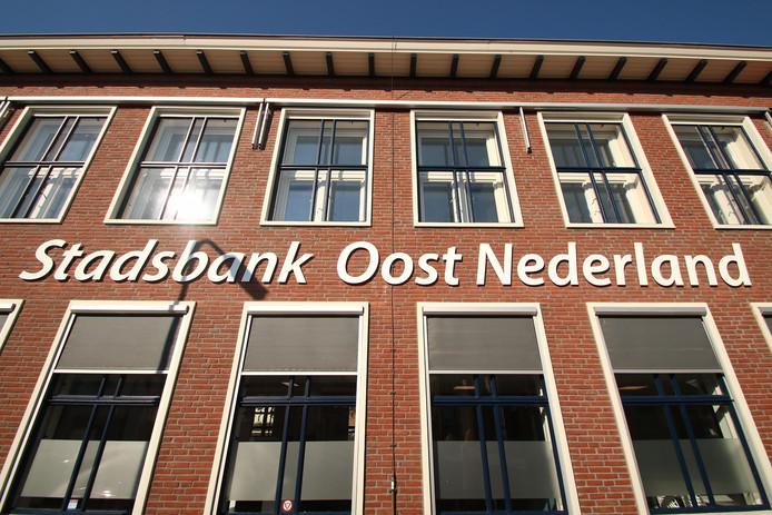 De Stadsbank Oost Nederland. foto MARCEL BRUGGEMAN