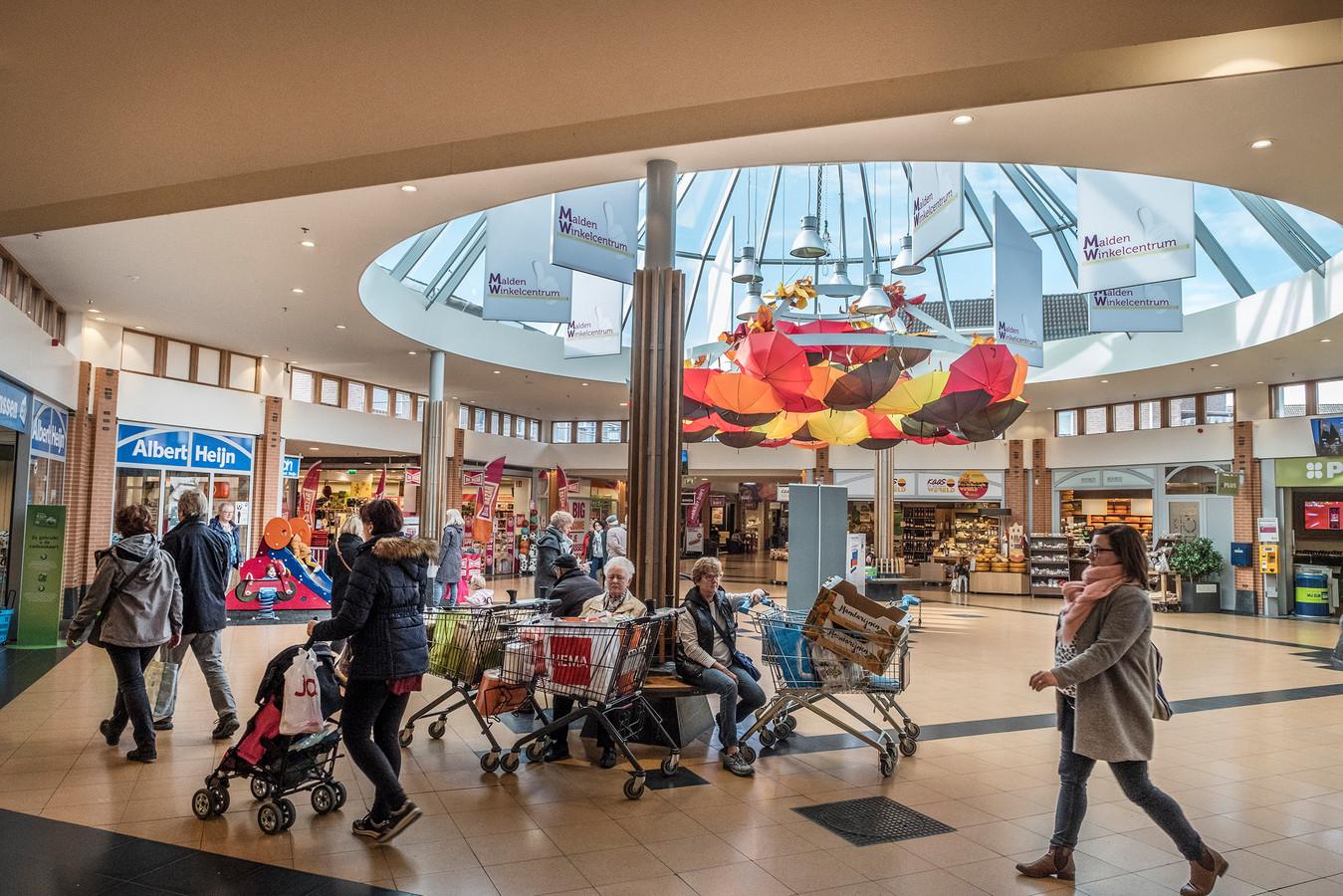 Het winkelcentrum van Malden als ontmoetingspunt.
