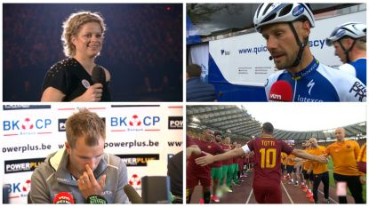 VIDEO. Het emotionele afscheid van 5 topsporters.