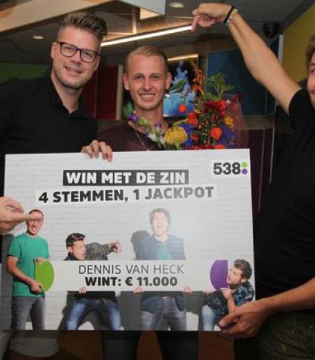 Dennis van Heck uit Kapelle wint 11.000 euro op Radio 538