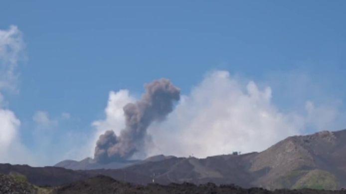 Le volcan sicilien Etna