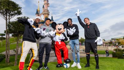 Mickey Mouse krijgt Franse wereldkampioenen over de vloer in Disneyland Paris