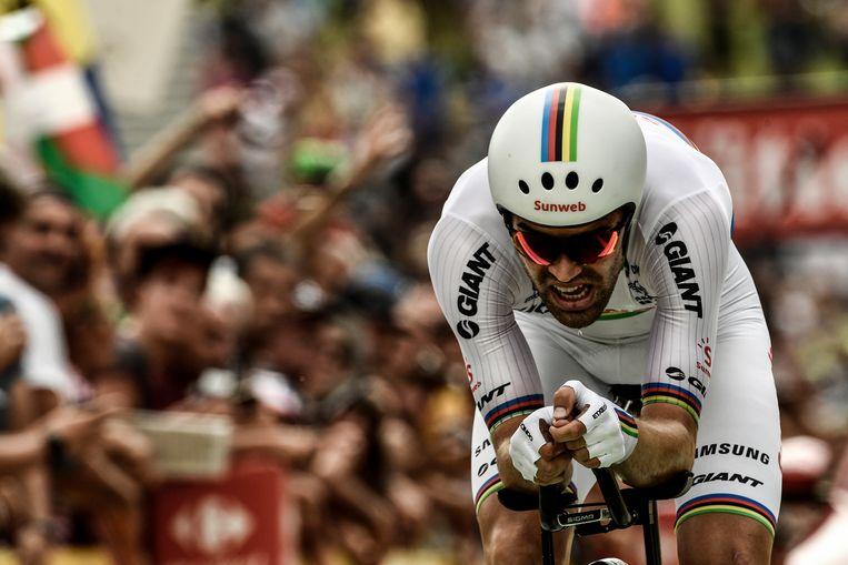 Tom Dumoulin.  Beeld AFP
