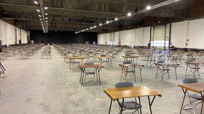 Wachtruimtes, looplijnen en bijstand van het Rode Kruis: unief maakt zich op voor bijzondere examenperiode