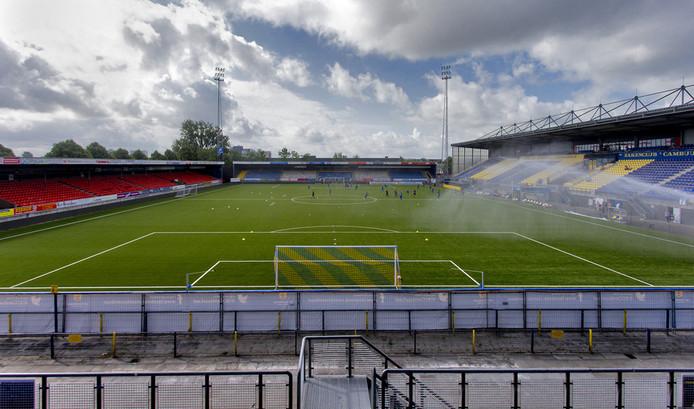 Het huidige stadion van Cambuur.