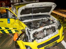 Twee ongevallen op A59 bij Made, voertuig Rijkswaterstaat zwaar beschadigd