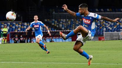 Insigne bezorgt Napoli op geweldige wijze volle buit tegen AS Roma, Mertens valt in