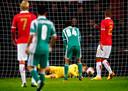 Als een van de weinige huidige PSV'ers maakte Jeroen Zoet de afstraffing tegen de Bulgaren mee.