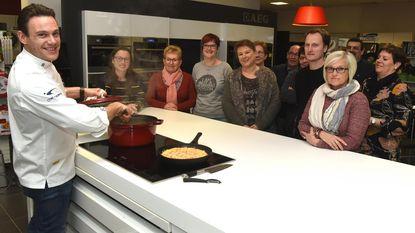 Kok Stefaan Van Beveren leidt workshop