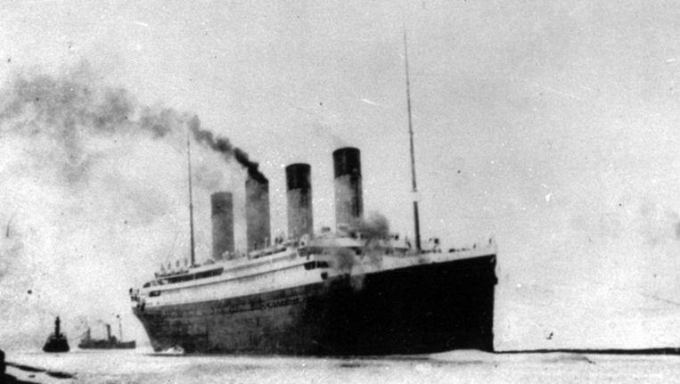 De Titanic in Southampton 1912. Beeld AP