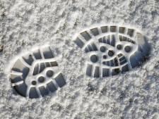 Sneeuw in Limburg en Oost-Brabant: lokaal 7 tot 10 centimeter