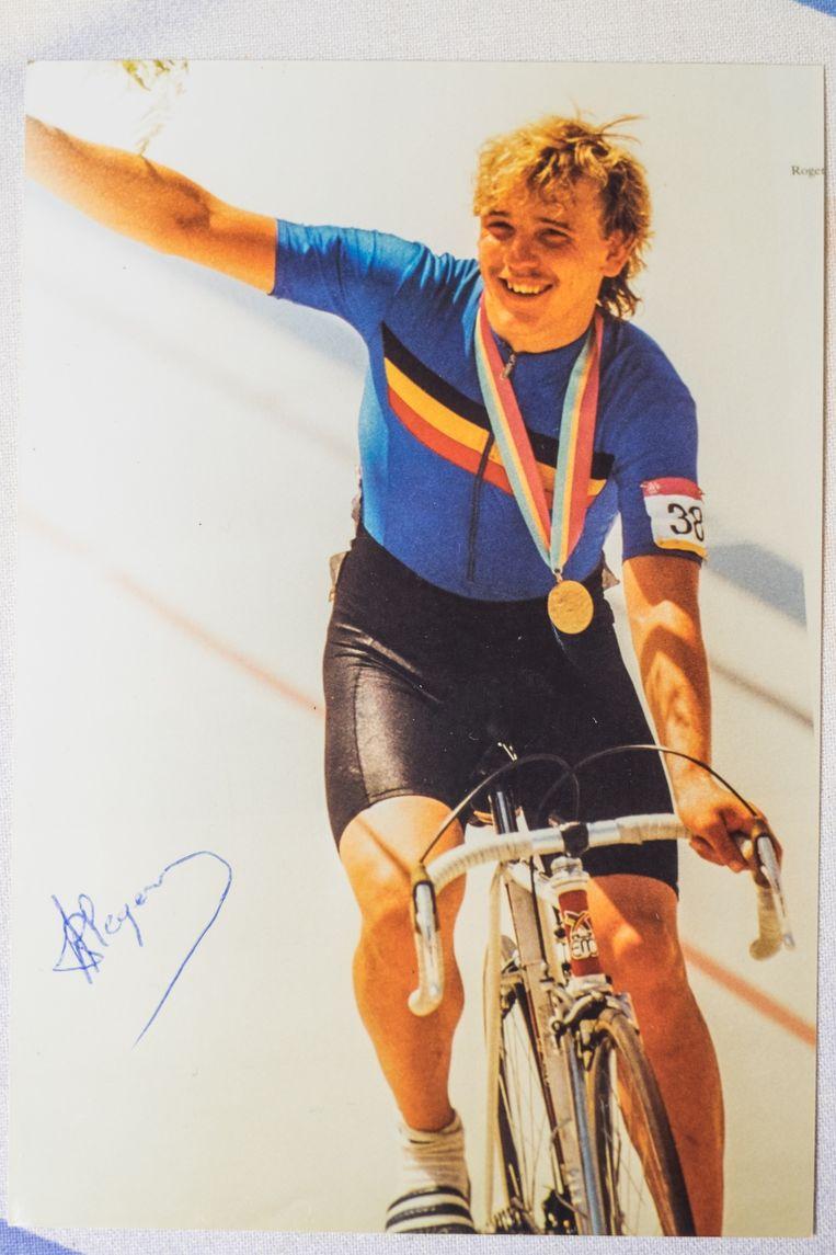 Ilegems viert zijn overwinning op de Olympische piste, zondag dag op dag 30 jaar geleden.