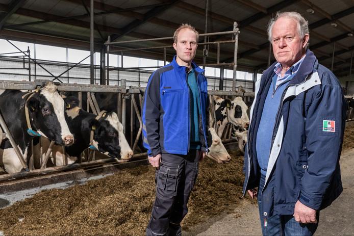 Twaalf boeren klagen de Rabobank aan. Onder hen het bedrijf van vader en zoon Zeinstra uit de Flevopolder.