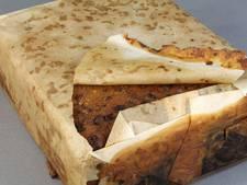 Ruim honderd jaar oud fruitcakeje nog steeds om op te eten