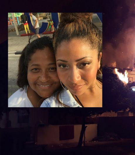 Familiehuis op Curaçao verwoest na brand: 'Ze kon haar hondjes niet redden'