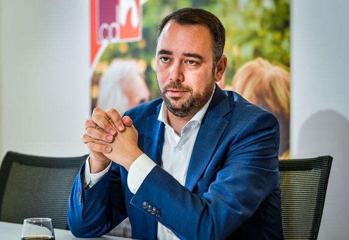 CdH-voorzitter Maxime Prévot