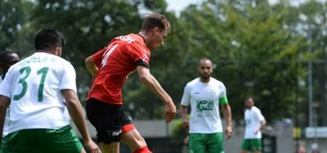 Bram Zwanen schiet Helmond Sport met geweldige goal voorbij sparringspartner Al-Ahli