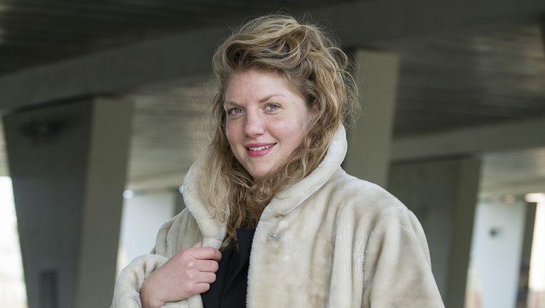 Simone van Saarloos, een van de twee genomineerde vrouwen op de longlist van de Socrates Wisselbeker. Beeld Maartje Geels