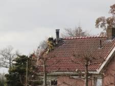 Flinke schade door schoorsteenbrand Heino