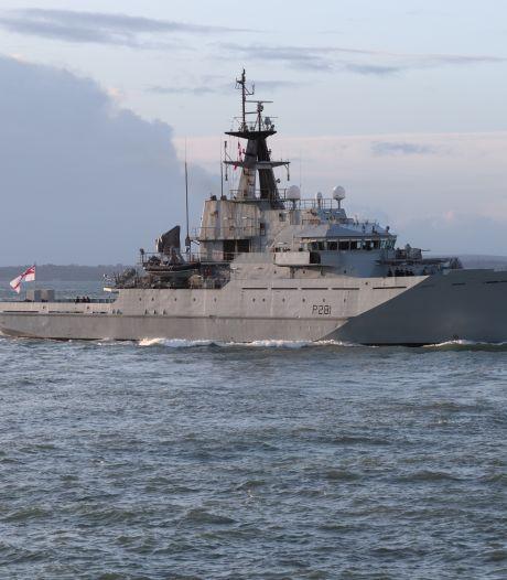 Britten hebben marineschepen klaarliggen om EU-vissers te enteren bij no-deal brexit