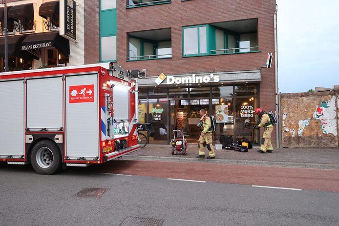 Brand bij Domino's in Eindhoven.
