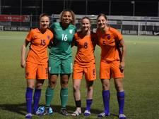 Voetbalsters Oranje-19 naar EK