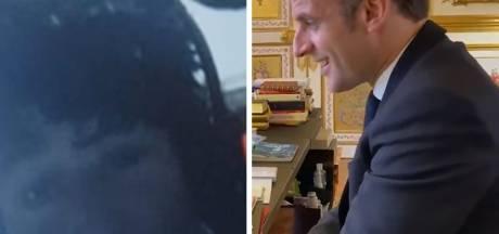 Emmanuel Macron félicite en vidéo Jean Le Cam d'avoir sauvé Kévin Escoffier