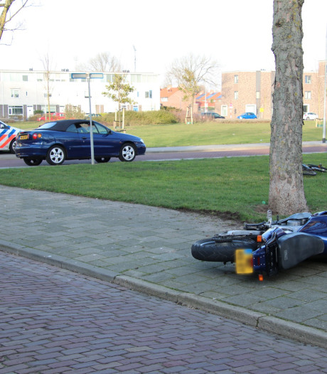 Motorrijder gewond na botsing in Vlissingen