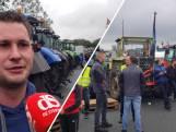 Ook Duitse Protestboeren verzamelen zich in Zwolle