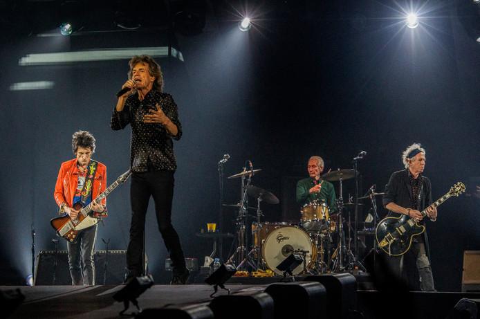 Rolling Stones Amsterdam Arena. De show is onderdeel van hun No Filter Tour.