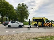 Twee auto's botsen in Beers: één persoon gewond